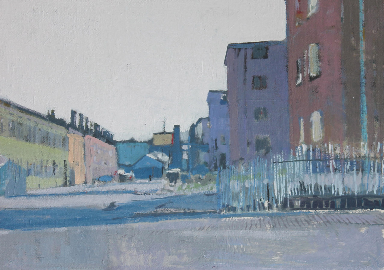 Browning Street, oil on board 30 x 42 cm POA