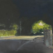 Dark Hours 1, oil on board 30 x 40 cm POA