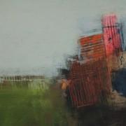 Watchman 2, acrylic on paper 46 x 60 cm POA