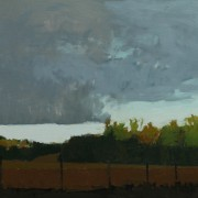 Woodland Storm, oil on canvas 61 x 76 cm POA