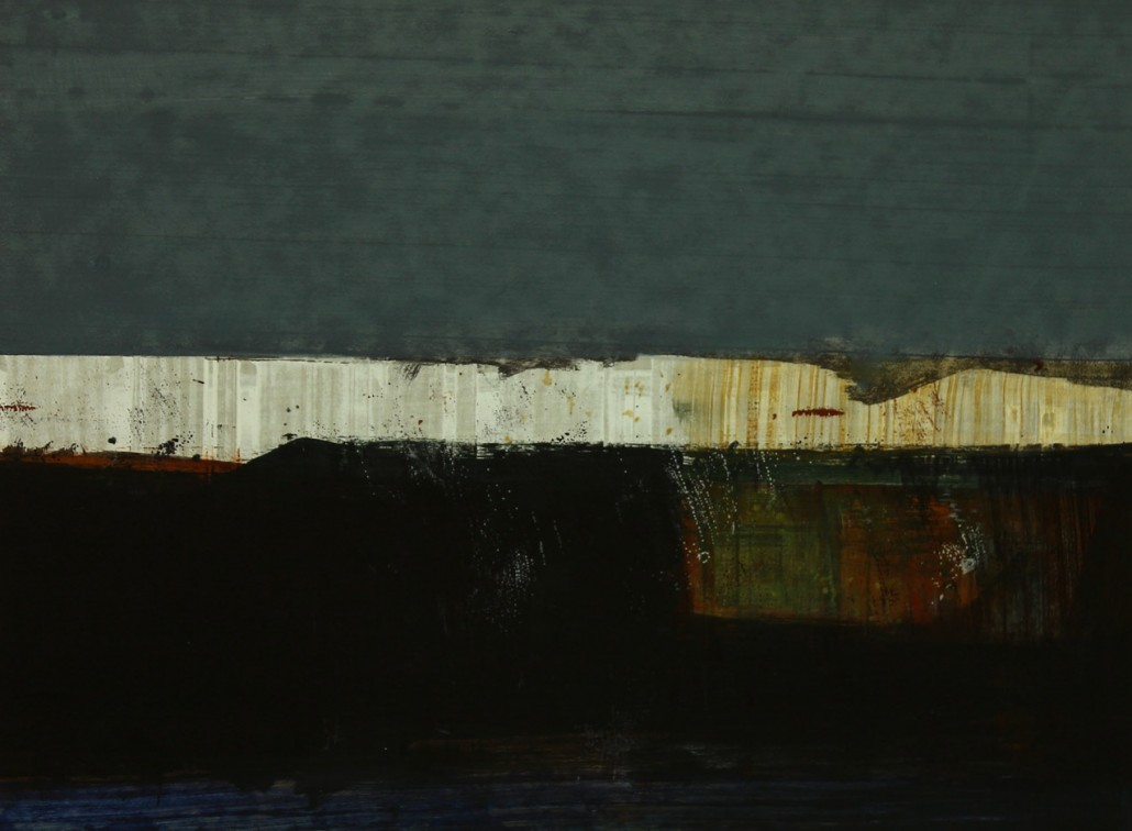 Argonaut 3, acrylic on paper 45 x 60 cms