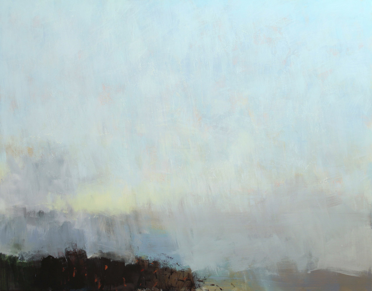 Air, acrylic on canvas 110 x 140 cms