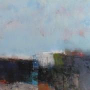 Coast, acrylic on canvas 90 x 120 cm POA