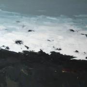 Margin, oil on canvas 60 x 76 cm POA
