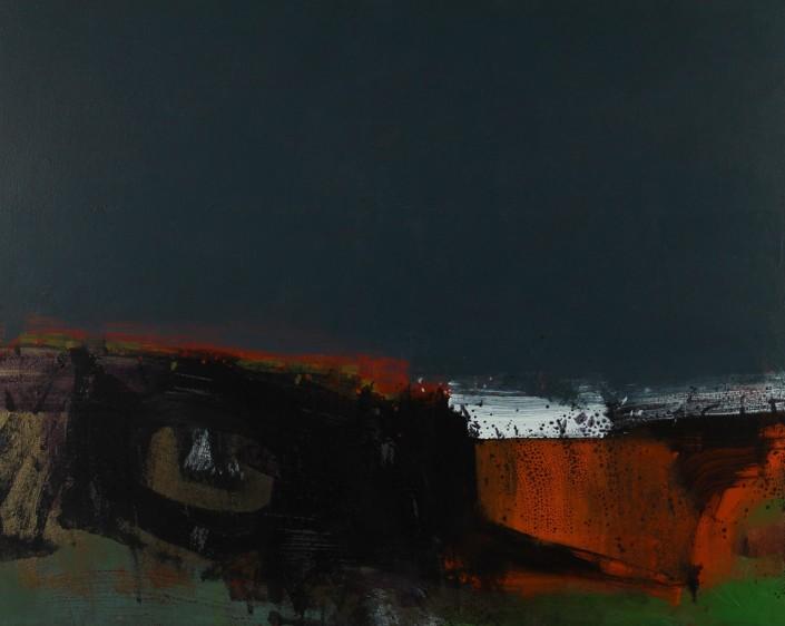 Stranded, acrylic on canvas 61 x 76 cm POA