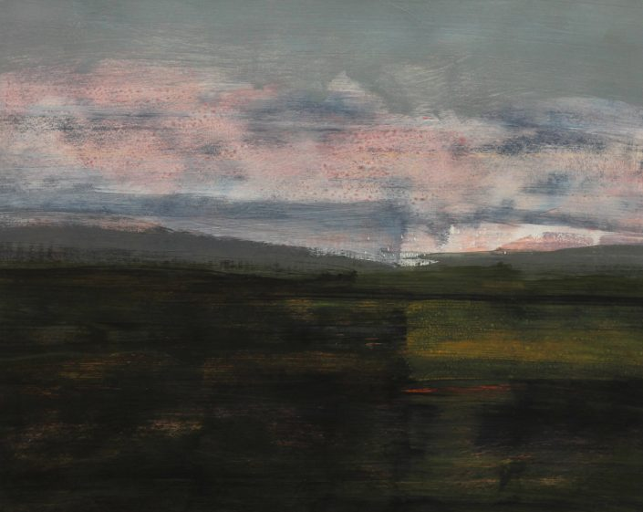 Wandering 4, acrylic on paper 61 x 76 cm POA