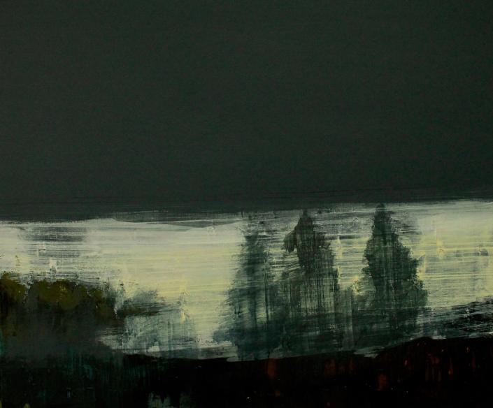 Ghost, acrylic on canvas 76 x 90 cms POA