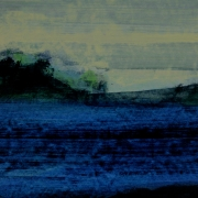 Incident 5, acrylic on paper 46 x 60 cm POA