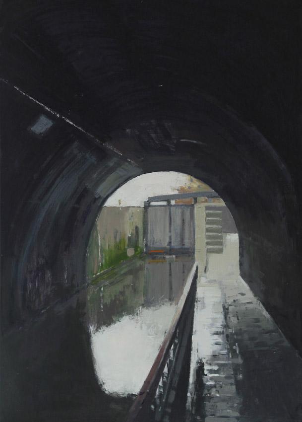 Into the Light, oil on canvas 69 x 51 cms POA