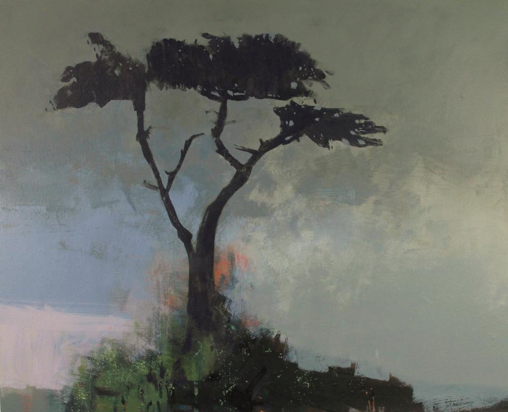 Outlook, acrylic on canvas 66 x 81 cms POA