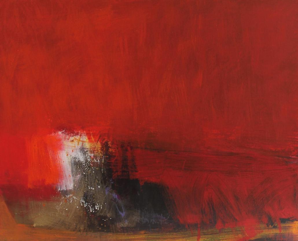 Red Tug, acrylic on canvas 60 x 76 cms POA