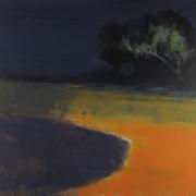 Shoreline Night, acrylic on canvas 76 x 90 cms POA
