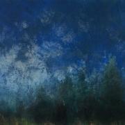 Umbra, acrylic on canvas 76 x 90 cms POA