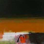 Wreckage, acrylic on canvas 76 x 90 cms POA