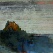 Landings, acrylic on canvas 36 x 48 ins POA