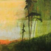 Vista, acrylic on canvas 110 x 140 cm POA