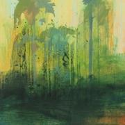 Wildwood 2, acrylic on paper 46 x 61 cm POA