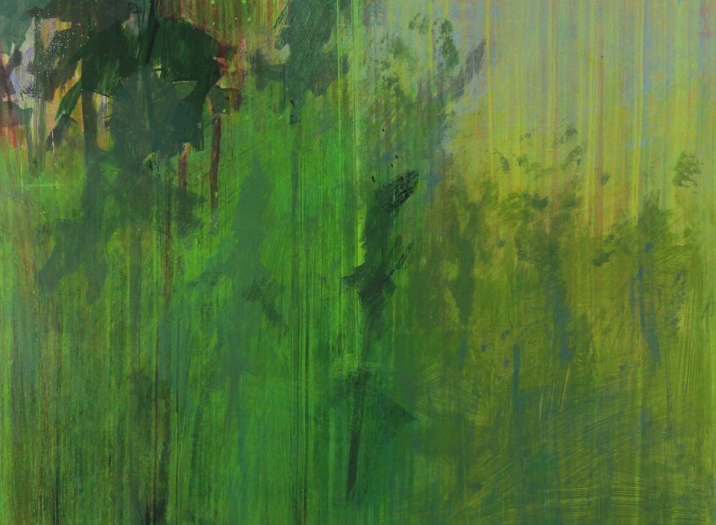 Wildwood 4, acrylic on paper 46 x 61 cm POA