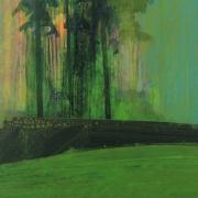 Wildwood 5, acrylic on paper 46 x 61 cm POA