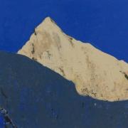 Alpine 9, oil on board 30 x 40 cm POA