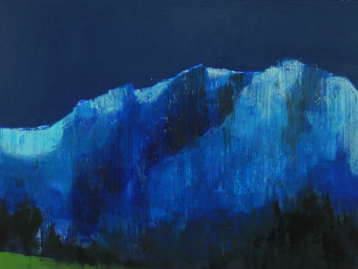 Blue Ridge, acrylic on canvas 90 x 120 cm POA