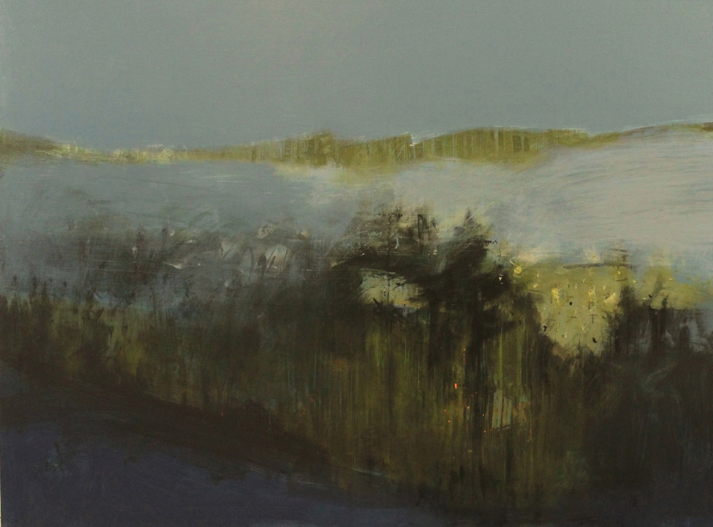 Vigilant, acrylic on canvas 90 x 120 cm POA