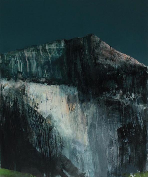 Rock Face, acrylic on canvas 91 x 76 cm POA
