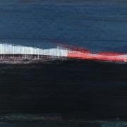 Seaboard 8, acrylic on paper 45 x 60 cm POA