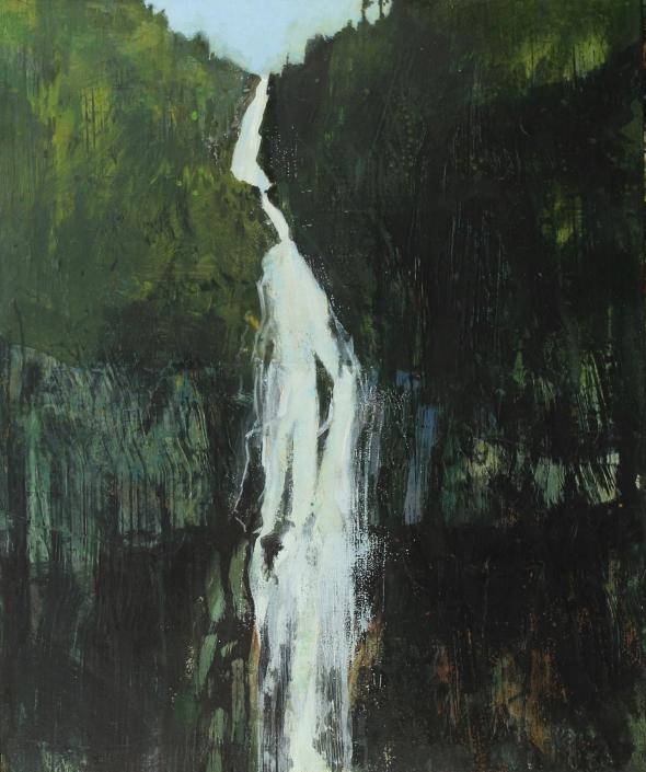 The Falls 3, acrylic on canvas 91 x 76 cm POA