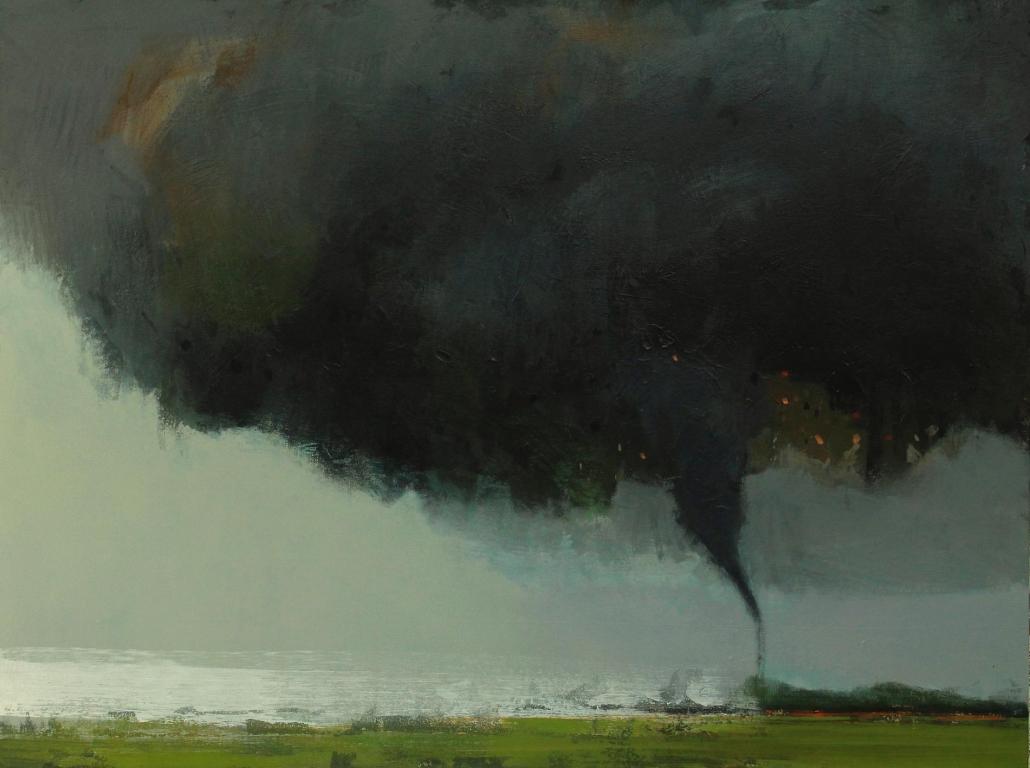 Uproar, acrylic on canvas 90 x 120 cm POA