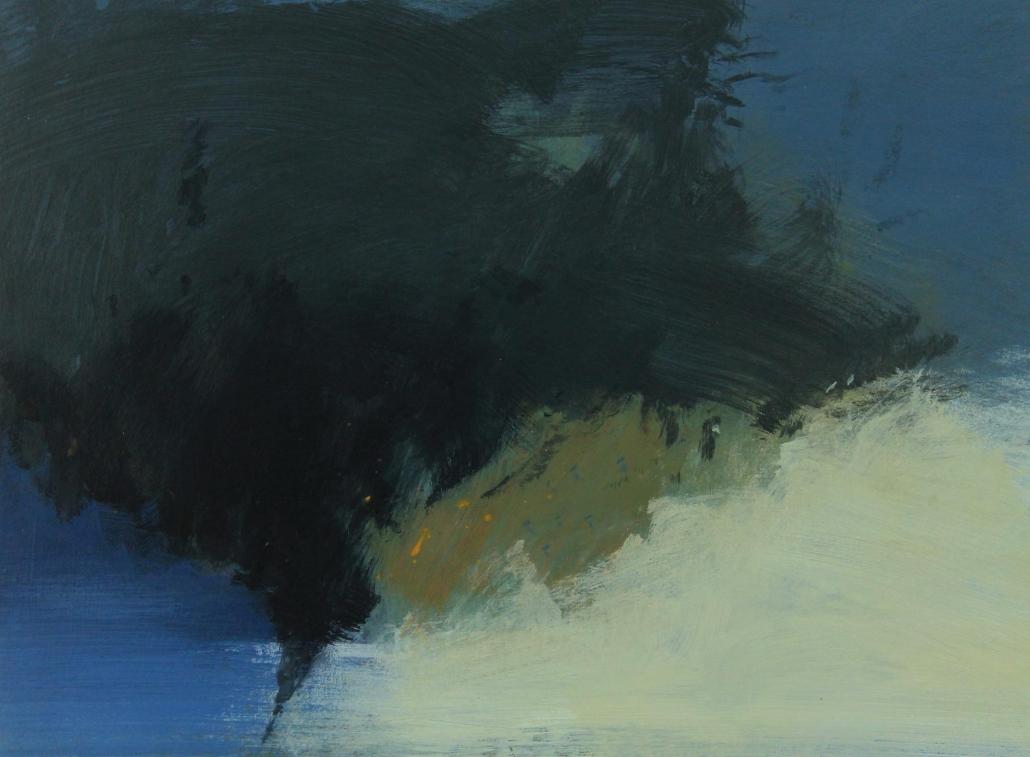 Whirlwind 7, acrylic on paper 45 x 60 cm POA