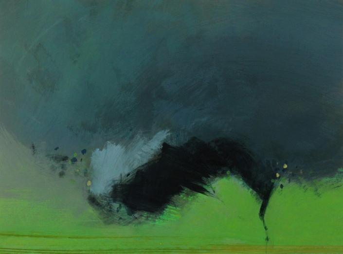Whirlwind 9, acrylic on paper 45 x 60 cm POA